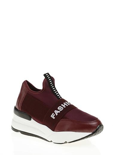 Derigo Sneaker Ayakkabı Bordo